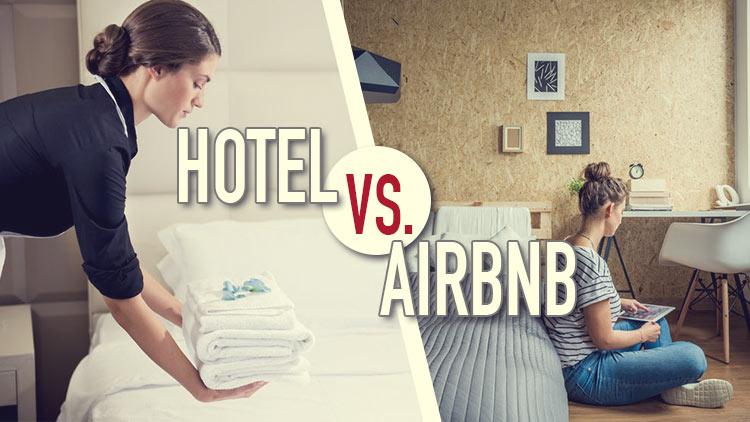 Airbnb vs. Hotel