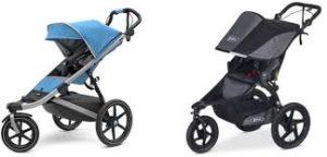Thule vs Bob jogging stroller