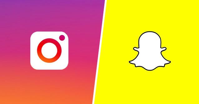 Snapchat vs. Insta